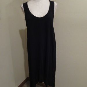 Anthropologie Left of Center high low tank dress